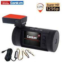 Conkim Mini 0826 P Videocamera per auto Full HD 1296 P Dash Cam ADAS LDWS Pro Condensatore Registratore di Guida di Auto Registrar di Parcheggio hardWire Kit