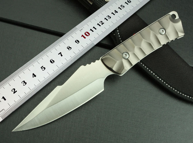 100 NEW Free Shipping SJ K605 Small Straight font b Knife b font easy to carry