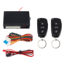 цена на Herorider Car Alarm Systems Auto Remote Central Kit Door Lock Keyless Entry System Central Locking with Remote Control
