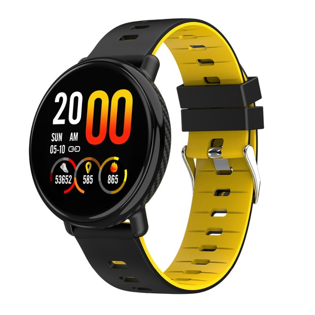 696 K1 Smart Watch Men Women IP68 Waterproof Clock Activity Fitness tracker Heart rate monitor Smartwatch for IOS Android
