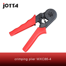 WXC86-4 crimping tool crimping plier 2 multi tool tools hands Mini-Type Self-Adjustable Crimping Plier fsb 054yj 0 5 1 5 1 5 2 5 4mm super strength saving mini type crimping plier