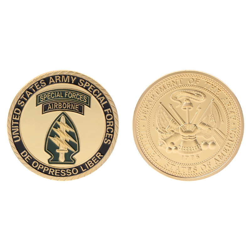 Commemorative Coin Special Forces US America Army Collection Arts Gifts Souvenir image