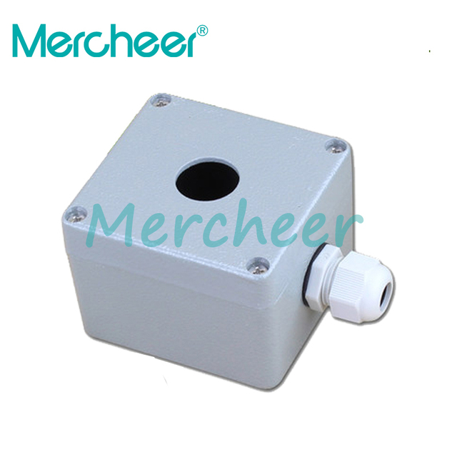 for switches and buttons BX1 22 One hole aluminium aluminum 80*76*60 ...