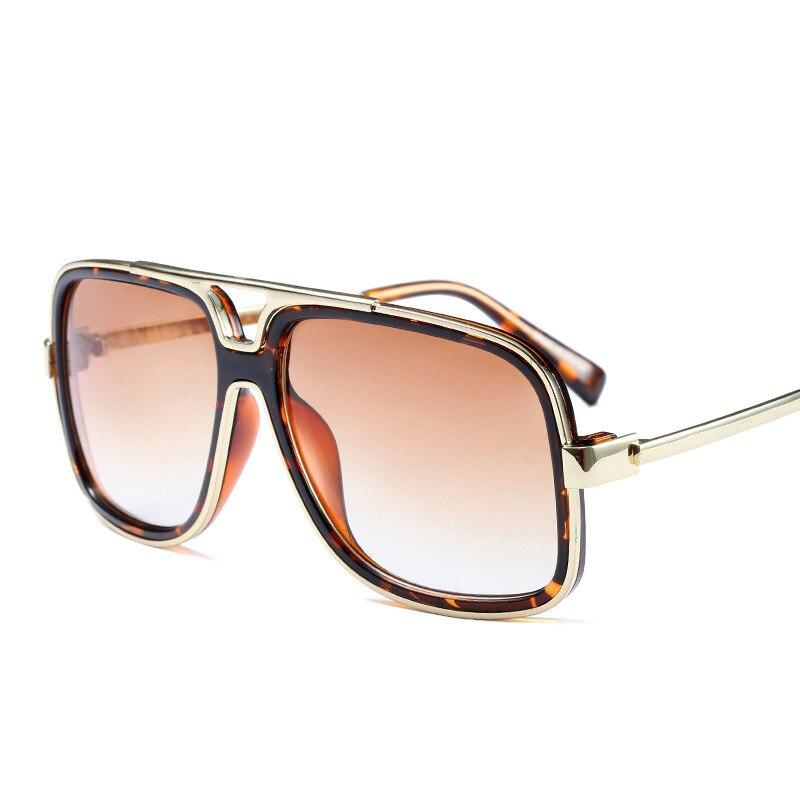 94b93bedf26 Luxury Square Mens Sunglasses Women Brand Designer Vintage Mirror Sun  Glasses Oversized Male Sunglass Steampunk Shades Oculos-in Sunglasses from  Apparel ...
