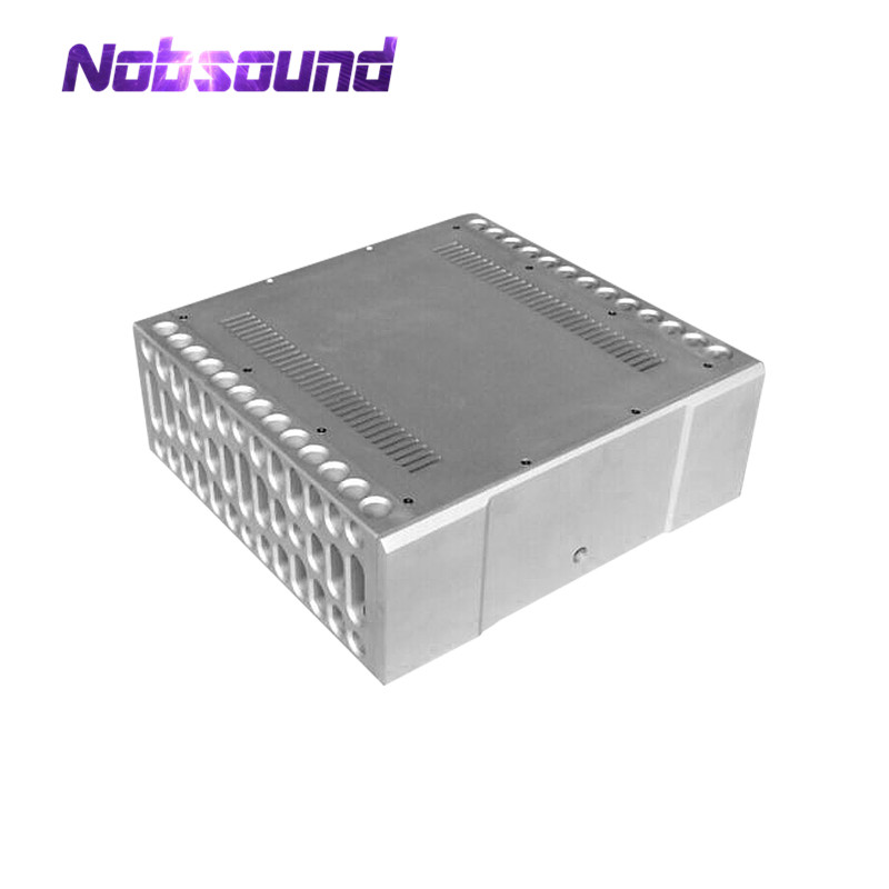 Nobsound Hi-End BOLDER Style CNC Aluminium Chassis Power Amplifier Enclosure DIY Case New наклейки new style 100mmx1520mm diy