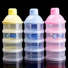 Пудреницу сухое молока молоко диспенсер контейнер бутылка питание детское ящик младенческой
