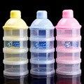 Sólido Botella De Alimentación del Bebé Caja de Leche En Polvo de Bebé Portátil Dispensador de Viajes Caja De Almacenamiento de Contenedores de Almacenamiento de la Leche En Polvo Para Lactantes BB0050