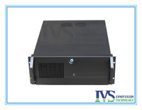 high quality 4U rackmount sever chassis IPC570Z 4U case with Unique one wholed lockable front bezel