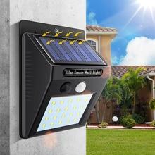 LED flashlight solar sensor auto lamp motion wall waterproof outdoor garden street light public road Night bulbs wall-mounted