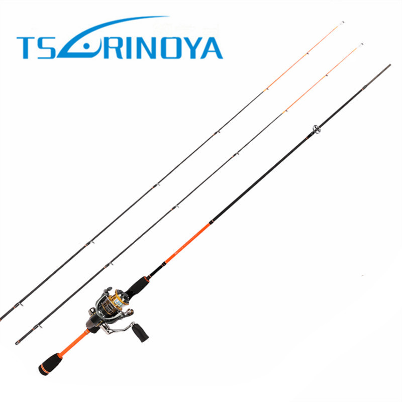 Trulinoya 1.8M 85g 2 Tips(L/UL) Spinning Fishing Rod Lure:1-7g/2-8g Line:2-8lb SIC Guides And ACS Reel Seat Carbon Rods