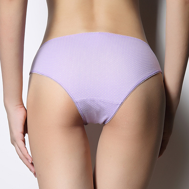 Zihooo Women Cartoon Bow Panties Sexy Cotton Hot Briefs Underwear Dot Low Waist For Girls Triangle Print Thong  P41 2pieces