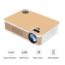 "Get more info on the 1080p Home Theater Projector Cinema 150"" Beamer 3000 Lumens LCD pojetor Overhead proyector led hd for Children retro projetor TV"