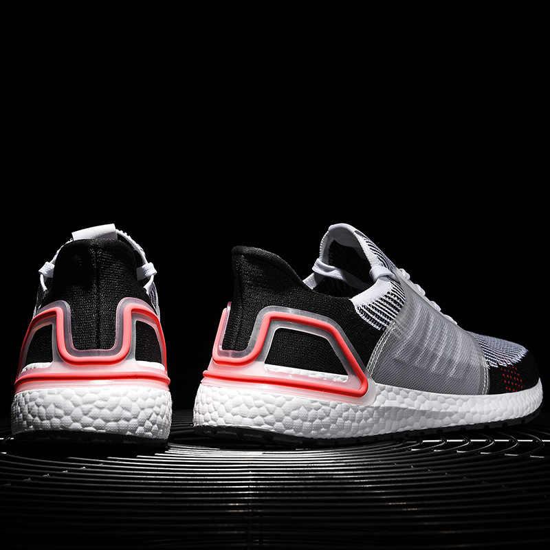 حجم كبير 46 شفرة ترتد الرجال أحذية رياضية الخريف في الهواء الطلق تنفس الرياضة احذية الجري للرجل الرياضة المستخدمة في حلقة مفرغة حذاء رجالي