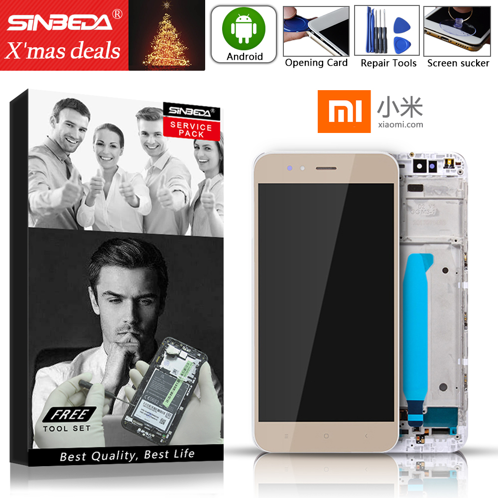 XIAOMI LCD Frame-Replacement Touch-Screen-Display A1 Mi 5x Mia1 Original For