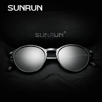 SUNRUN Classic Fashion Polarized Women Sunglasses Brand Designer TR90 Frame Oval Lens Sun Glasses Car Driving
