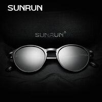 SUNRUN Classic Fashion Polarized Women Sunglasses Brand Designer TR90 Frame Oval Lens Sun Glasses Car Driving