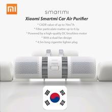 Автомобильный очиститель воздуха Xiaomi Smartmi, освежитель воздуха, увлажнитель воздуха 70м3/ч, очиститель PM 2,5, двойной фильтр