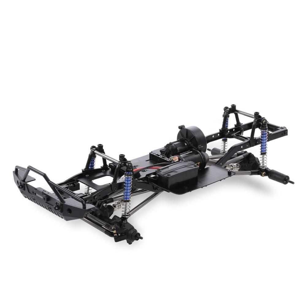 LeadingStar 313mm 12.3 pouces empattement châssis assemblé pour 1/10 RC véhicules sur chenilles SCX10 SCX10 II 90046 90047 - 2