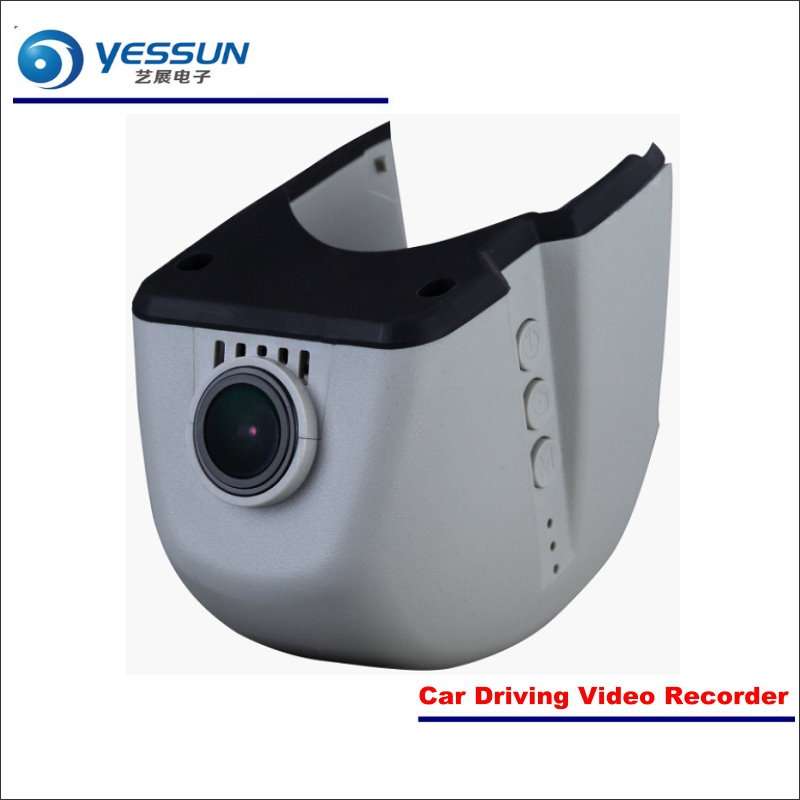YESSUN For Audi A3 A4L A6L A7 A8 Q3 Q5 Car DVR Driving Video Recorder Front Camera Black Box Dash Cam - Head Up Plug Play bigbigroad for nissan qashqai car wifi dvr driving video recorder novatek 96655 car black box g sensor dash cam night vision