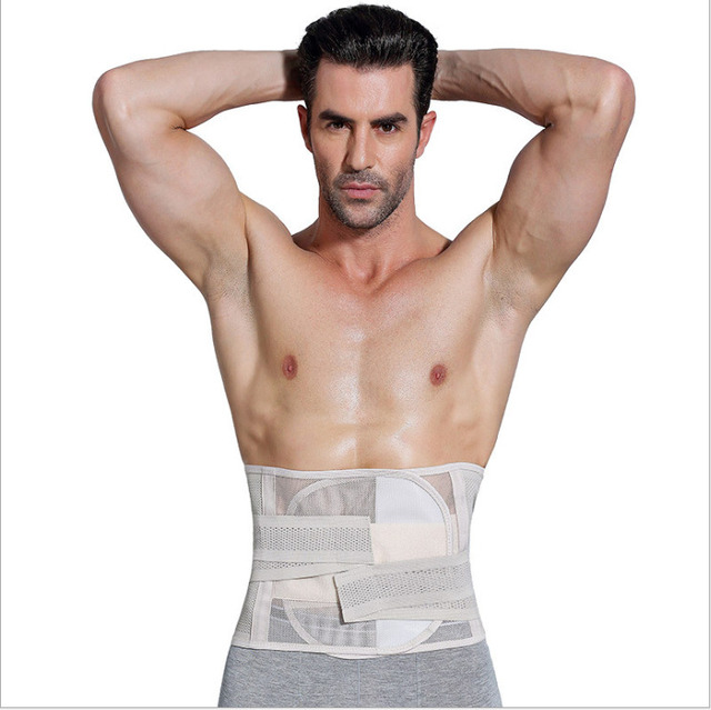 New Men Slimming Abdomen Fat Burn Tummy Body Shaper Sweat Belt Cincher Wraps Corset Gym Sport Women Trainlt Wide Belt Waistband 4