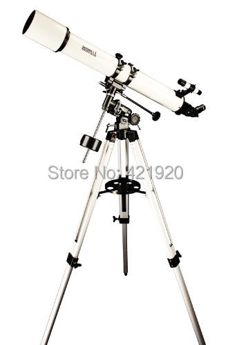 Bosma 80EQ(80/900 mm) Astronomical Refractive Telescope & Tripod bosma 80 900 astronomical telescope monocular equatorial refractive fully coated telescope with portable tripod w2358b