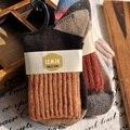 3 Par/lote = 6 unids Nueva Llegada Patchwork Muchacha de Las Mujeres Calcetines de Moda Natural Colorido de Punto de Algodón Calcetines de Color Puro para Las Mujeres 784