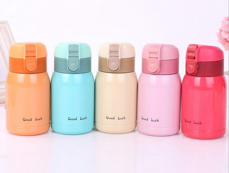 Mini Thermos Café ჱ200 ml mini café vide flacons thermos en acier inoxydable boisson