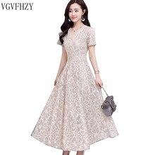 Promoción de Vestido Blanco Con Flores Grandes Compra
