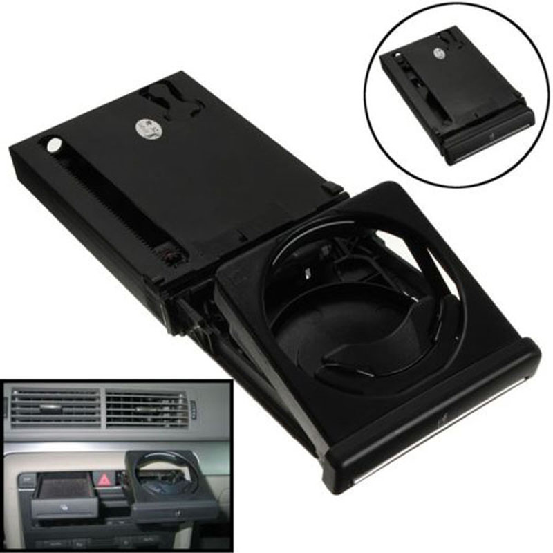 Original Front Auto Cup Holder Accessories For Audi A4 B6 B7 2002-2007 Folding Car Drinks Holders Refit Parts Holder areyourshop car window front door switch panel cover trim stickers for audi a4 b6 b7 2002 2007 car styling car covers detector
