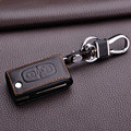 leather keychain keyring for Peugeot 307 206 308 408 207 407 406 301 2008 3008 4008 key protector cover case sticker holder