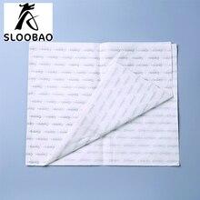 Напечатанный на заказ логотип подарочная тканевая бумага/влагостойкая упаковочная бумага/одежда/обувь оберточная тканевая бумага