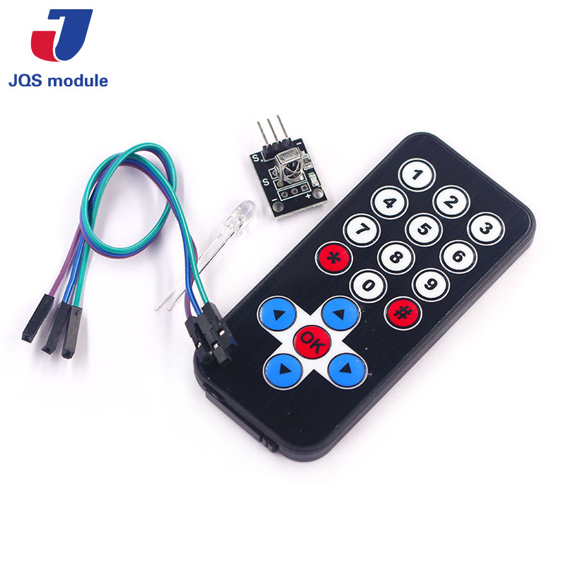 1LOT Infrared IR Wireless Remote Control Module Kits DIY Kit HX1838 For  Arduino Raspberry Pi