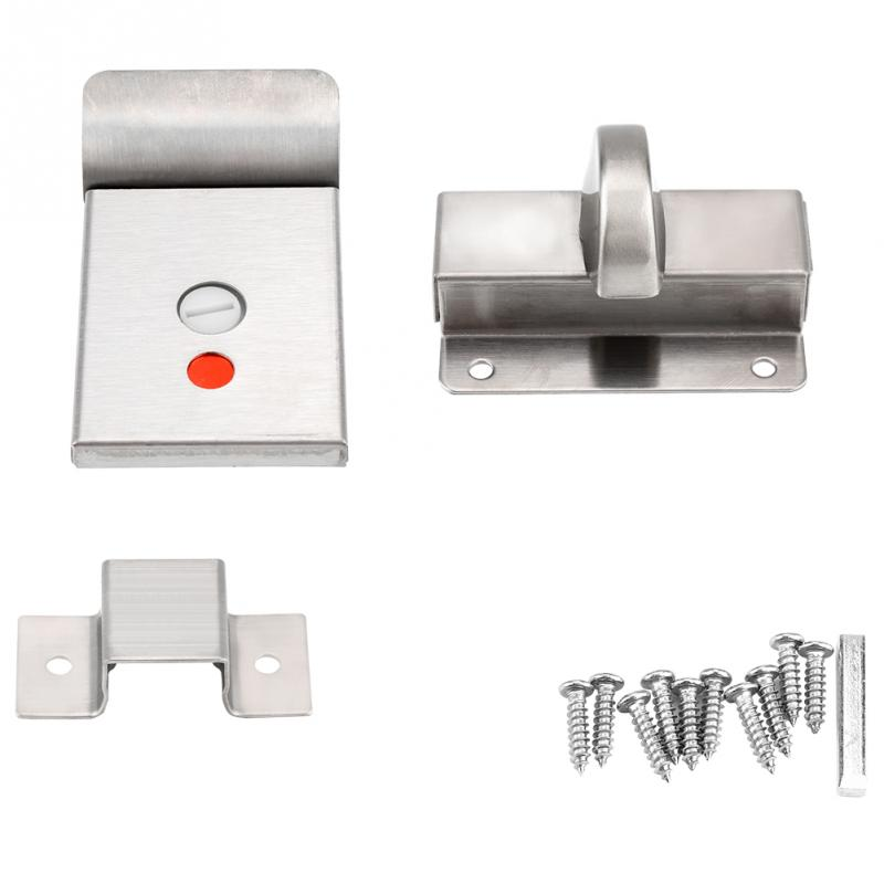 Brilliant Bathroom Toilet Privacy Bolt Door Lock With Vacant Engaged Interior Design Ideas Clesiryabchikinfo