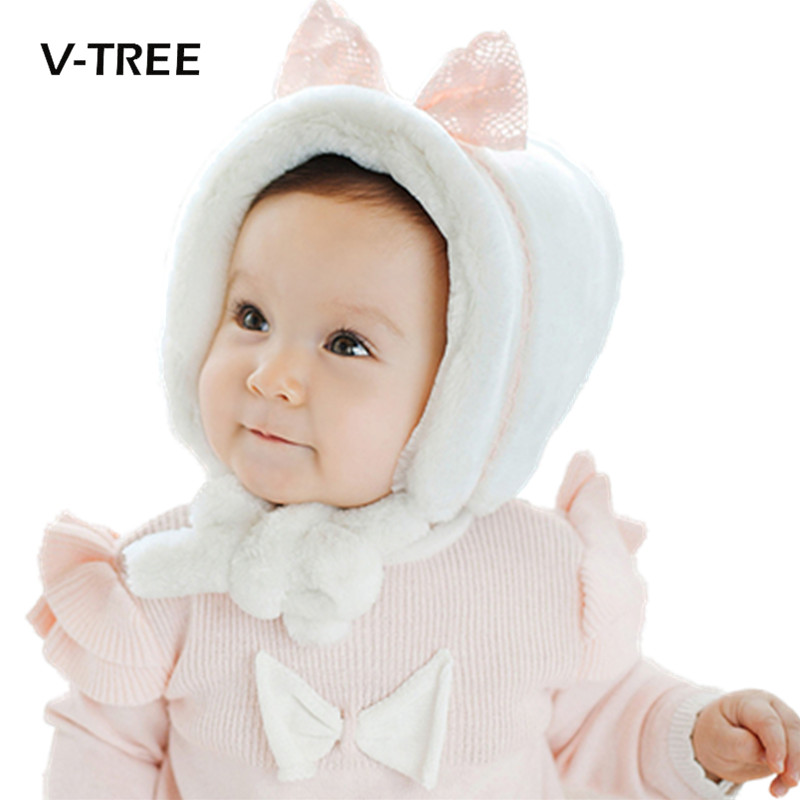 Top quality Baby cap Winter soft fleece baby girl toodler infant cap cute newborn photography props baby beanie hat