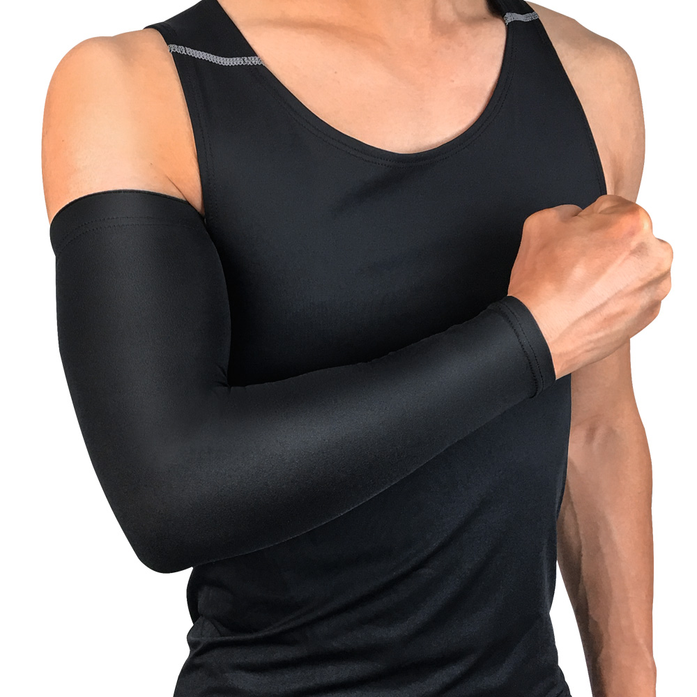 Protective Gear Solid Color Warm Velvet Arm Sleeve Outdoor Sports Protection 1PC LFSPR0026