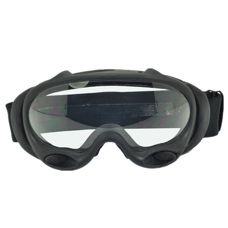 Tactical safety goggle OK ski goggles black and white lenses Black DE pink ...