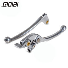 Sliver Motorcycle Adjustable Brake Clutch Levers For Honda CB400 CB 400 1999 2000 2001 2002(China)