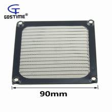 2 шт gdstime 9 см компьютерная сетка черный ПК вентилятор охладитель