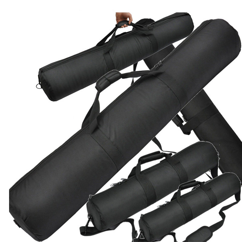 f44dce1dd013 Roadfisher 50~100cm Long Thick Padded Waterproof Nylon Tripod Monopod  Storage Bag Pack Case For