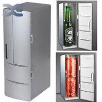 2Per portátil prático Mini USB frigorífico bebida pode refrigerador de bebidas congelador geladeira carro de PC e jogo