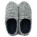 Venta caliente de Invierno Suaves del Hogar Zapatillas de Algodón de Interior Zapatillas Calientes Calza El Envío Libre