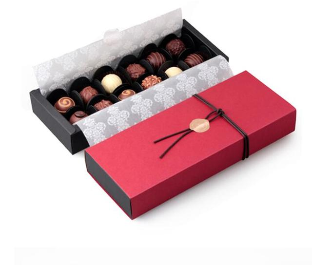 Red rectangle 12 cavities holes chocolate packaging box for red rectangle 12 cavities holes chocolate packaging box for valentines day chocolate candy gift box negle Gallery