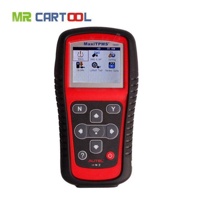 Цена за 100% Первоначально AUTEL MaxiTPMS TS501 TPMS диагностики и service tool активации OEM/Универсальный TPMS датчики + перепрограммировать ECU автомобиля