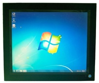 19 Waterproof Industrial Panel PC Core I3 CPU 2GB DDR3 320GB HDD 19 Inch All In