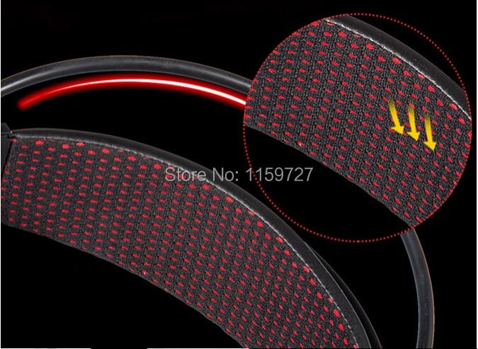 Kõrgeima kvaliteediga Stereo LED Shinning Gaming kõrvaklapid - Kaasaskantav audio ja video - Foto 5