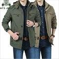 AFS JEEP брендовая ветрозащитная водонепроницаемая куртка в стиле милитари  Мужская ветровка большого размера  Повседневная ветровка  мужская...