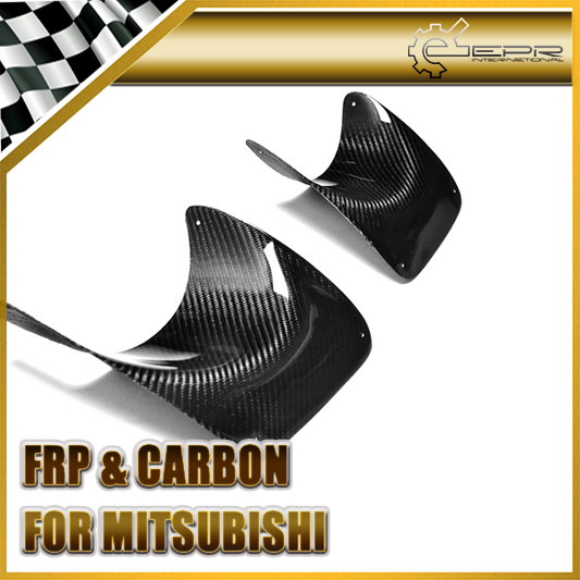 Car-styling For Mitsubishi Evolution EVO 10 Carbon Fiber Rear Bumper Exhaust Heat Shield In Stock