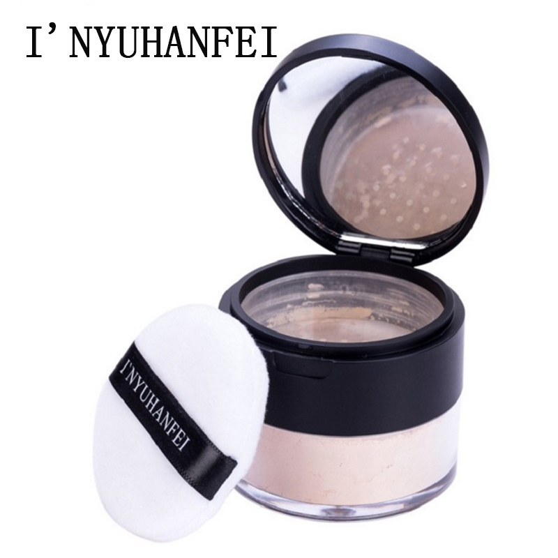 3 colors brighten face compact loose powder setting oudre visage oil-control professional smooth matte cosmetics makeup PD036