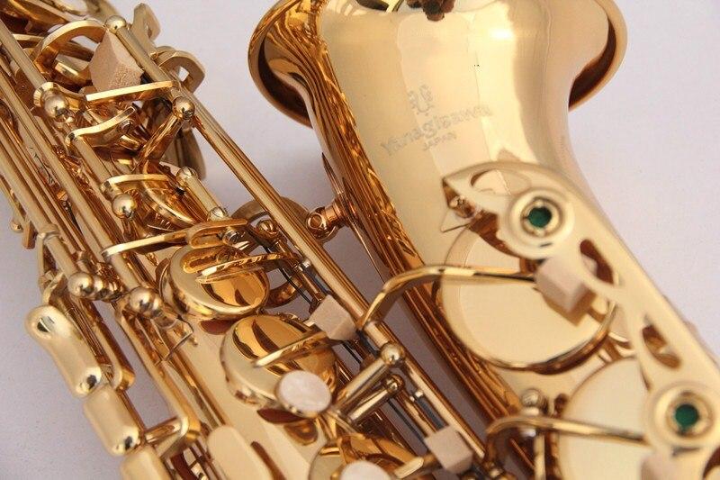 Hot New Japan YANAGISAWA W01 A 901 alto saxophone E flat Gold Lacquer Sax Music Ups Free Shipping yas 82z saxophone e flat alto saxophone top music high quality sax electrophoresis gold dhl ups shipping
