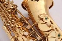 Hot New Japan YANAGISAWA W01 A 901 Alto Saxophone E Flat Gold Lacquer Sax Music Ups